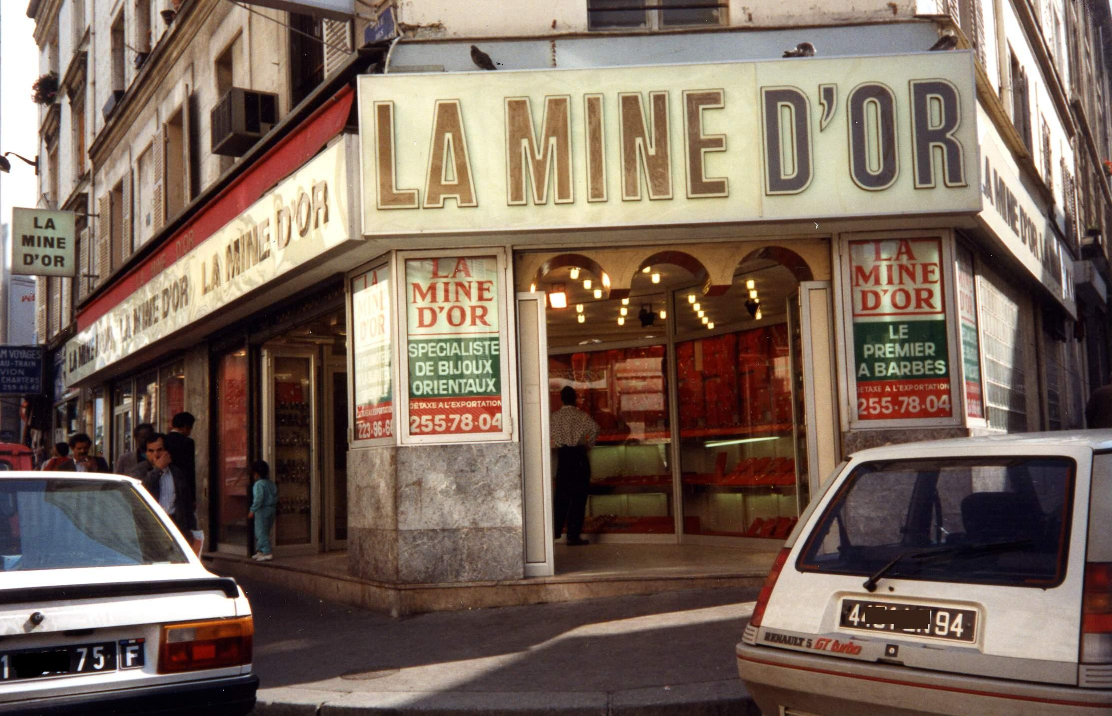 Michelle Guillon 1995, La mine d'or